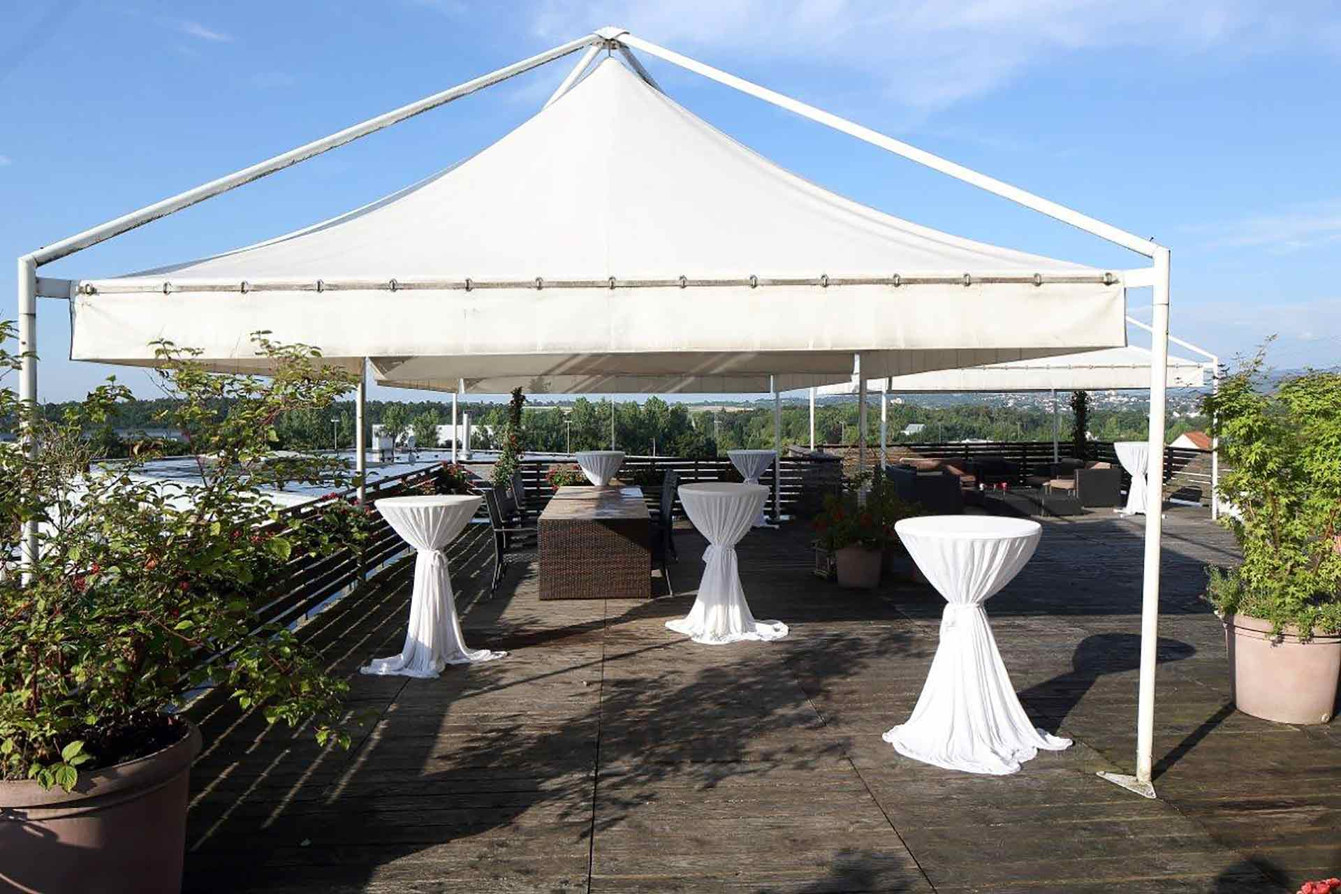 Eventlocation Reutlingen Dachterrasse